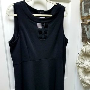 Slinky Brand Fit and Flare in Black